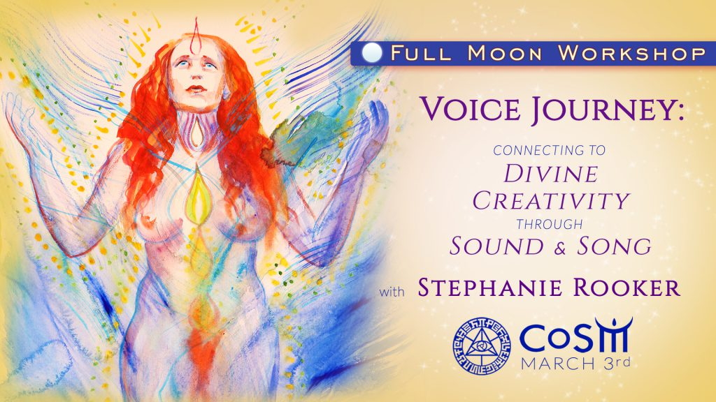 WORKSHOP:  Voice Journey - Connecting to Divine Creativity through Sound & Song @ Chapel of Sacred Mirrors (CoSM) | Wappingers Falls | New York | United States