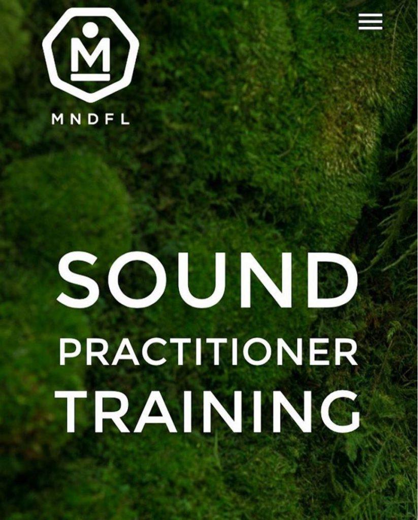 MNDFL Sound Practitioner Training @ MNDFL | New York | New York | United States
