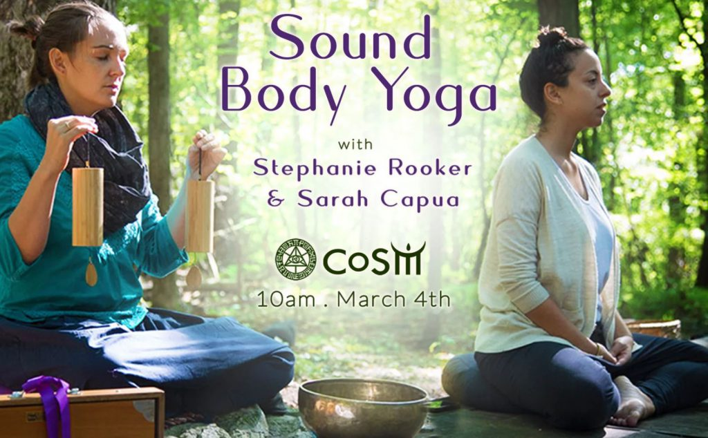 SOUND HEALING: Sound Body Yoga @ Chapel of Sacred Mirrors (CoSM) | Wappingers Falls | New York | United States